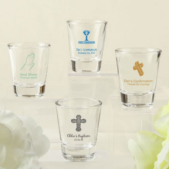 Personalized Shot Glassess favors